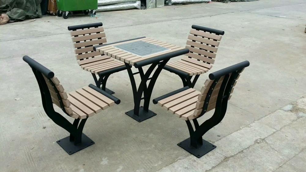 天水直销韩式成套桌椅 高品质实木桌椅  户外套桌椅采购地址