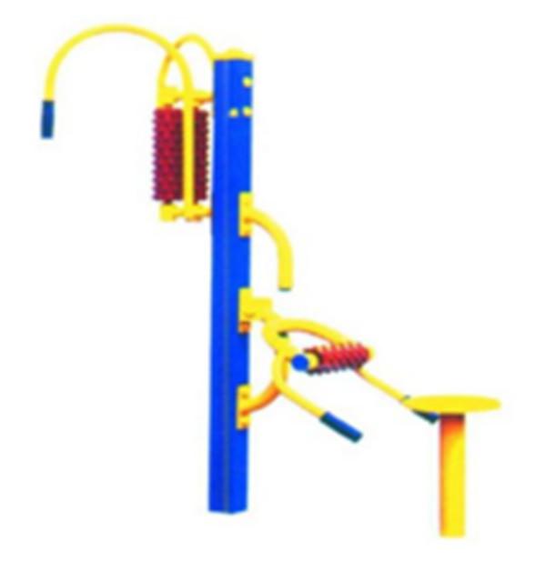 菏泽公园健身器材 双位腹肌板 【体育训练设备生产厂家】