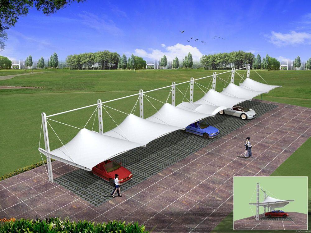 膜结构车棚价位、鹤壁市膜结构车棚、毅阳膜结构(查看)