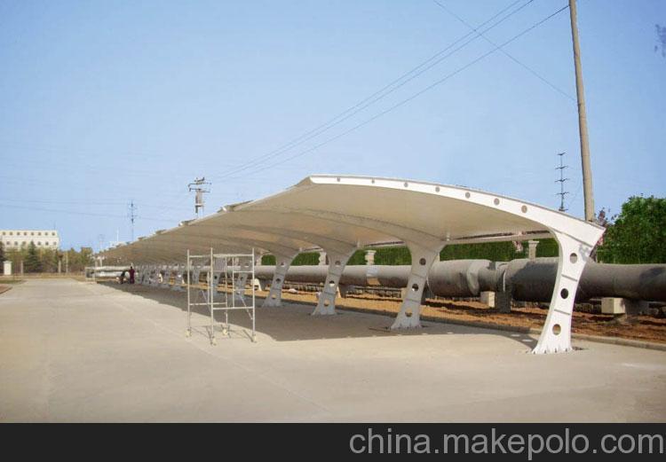 张拉膜结构车棚形式、衡水市膜结构车棚、毅阳膜结构(查看)