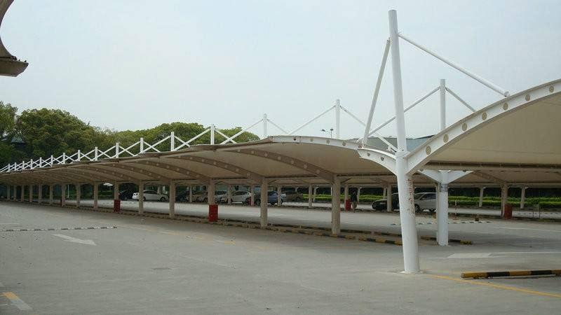 膜结构车棚制作方法、沧州市膜结构车棚、毅阳膜结构(查看)