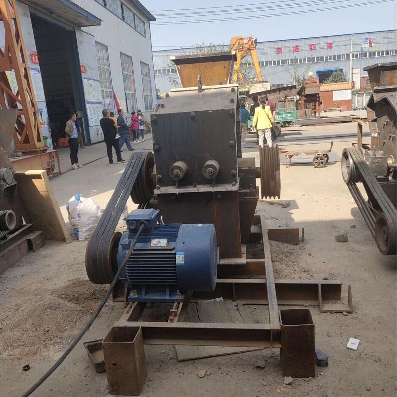 隆昌高效型青石制砂机 移动数控细碎打砂机 小型液压开箱破碎机