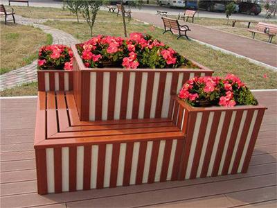 木塑花箱厂家(图)、花箱的价格、濮阳市花箱
