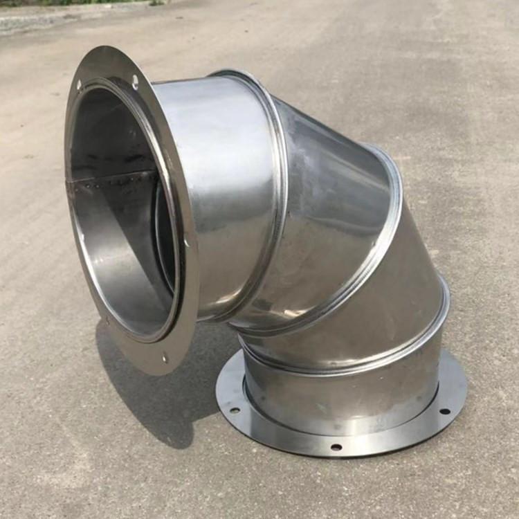 优质不锈钢风管弯头 通风管道生产供应商厂家