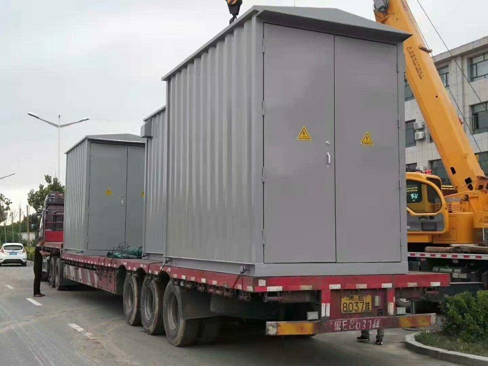 专业生产高品质变电站预制舱 户外箱式变电站 可加工定制