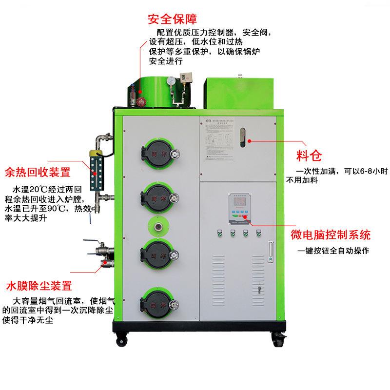 LHG生物质蒸汽发生器100kg/h