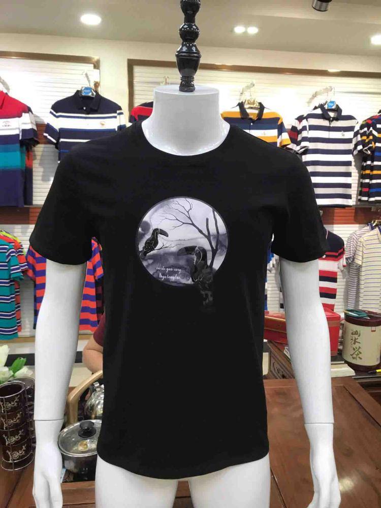 四季名鼠夏季短袖男式T恤库存尾货低价批发