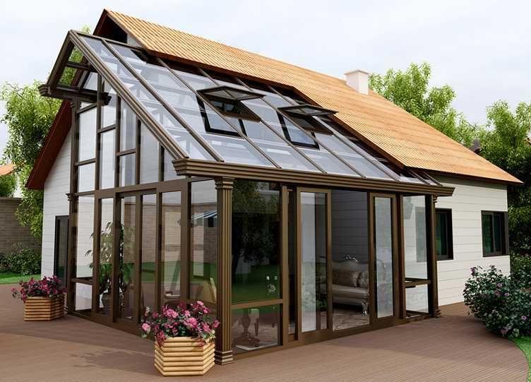 欧式铝艺风格大门庭院门