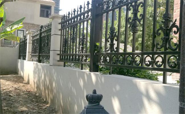 别墅花园铝艺栏杆护栏