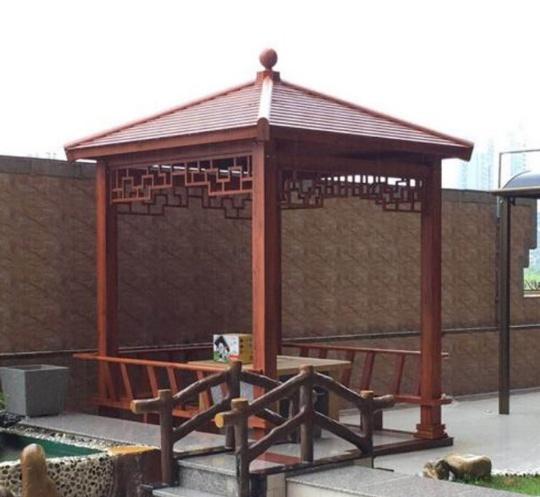 别墅庭院景观凉亭制作