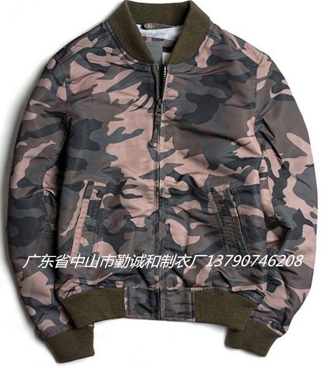 外貿歐美冬秋季空軍飛行男士夾克長袖雙面穿棒球服男裝外套亞馬遜