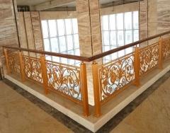 楼梯护栏厂家、揭阳市楼梯护栏、佛山锢雅精雕金属制品