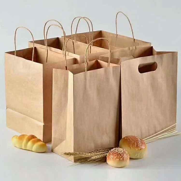 供应35克40克70克汉堡袋牛皮纸 防油面包袋牛皮纸 日本进口牛皮纸