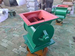 河北双瑞环保链条传动星型卸料器
