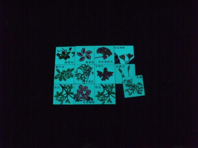 主题宾馆艺术馆专用注塑工艺夜光瓷砖
