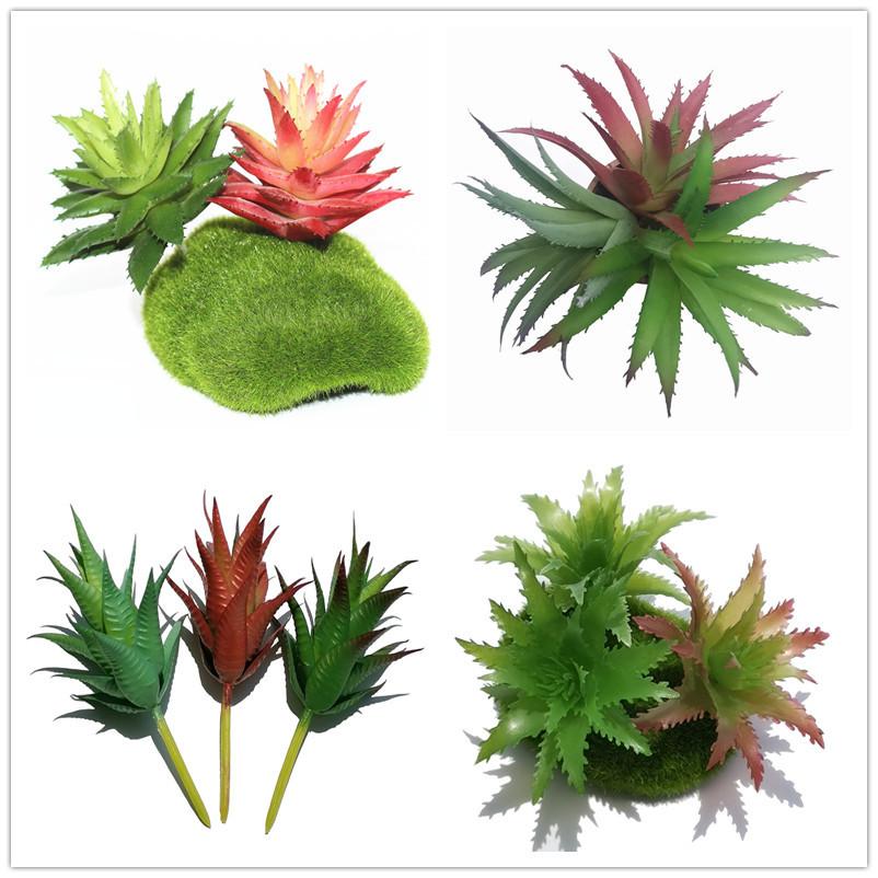 仿真多肉植物 盆栽装饰 绿植仿真摆件 塑胶花