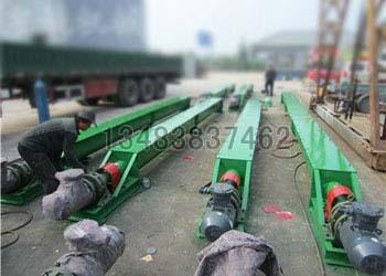 耐高温螺旋输送机生产厂家 鸿成环保 污泥无轴绞龙 水泥螺旋输送机