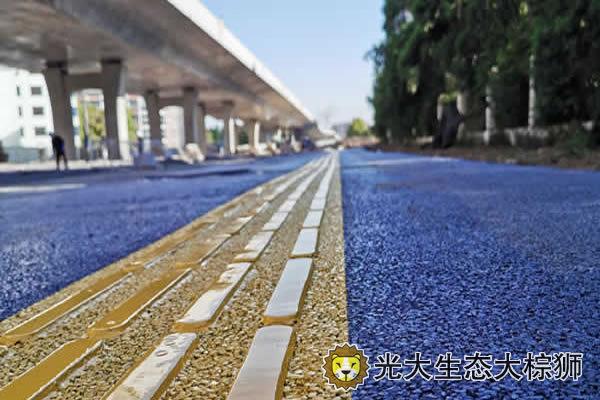 透水混凝土盲道设计要求及施工工艺
