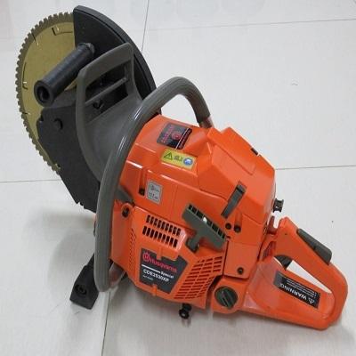 金属混凝土手提式汽油切割机CDE2530机动双轮异向切割锯