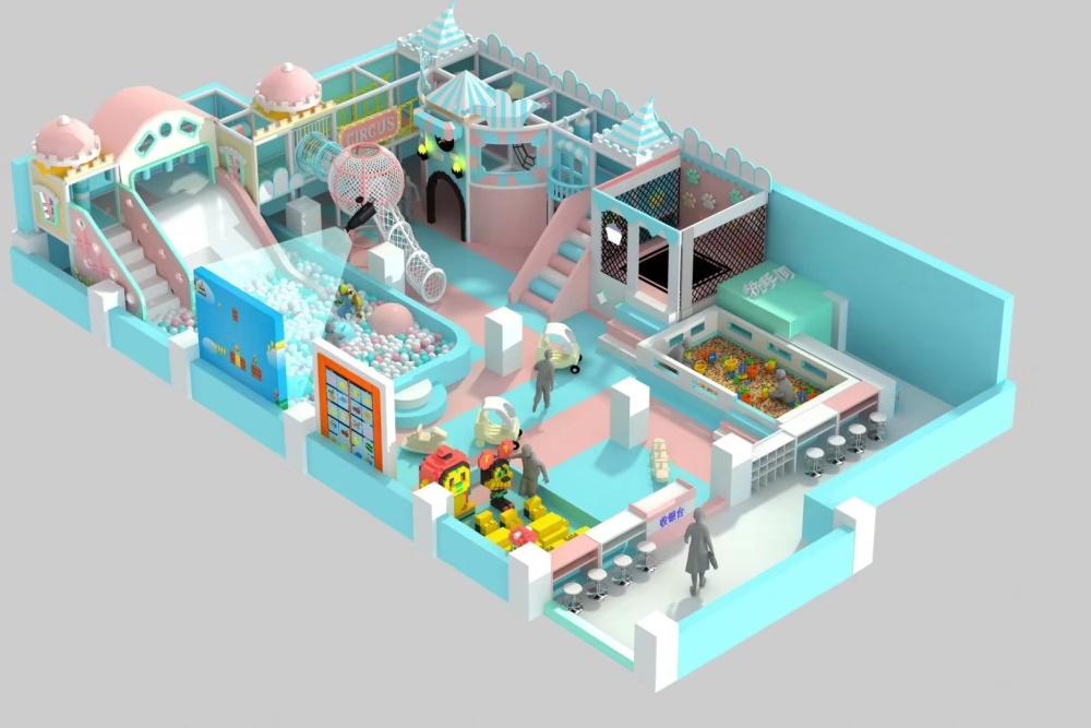 陕西淘气堡厂家,室内儿童乐园设备 厂家直销 美佳奇淘气堡