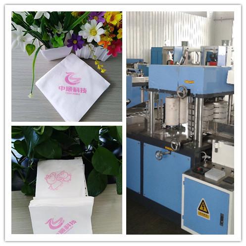 厂家直销HLCJ-A-2L压花餐巾纸机酒店餐巾纸机 餐巾纸机