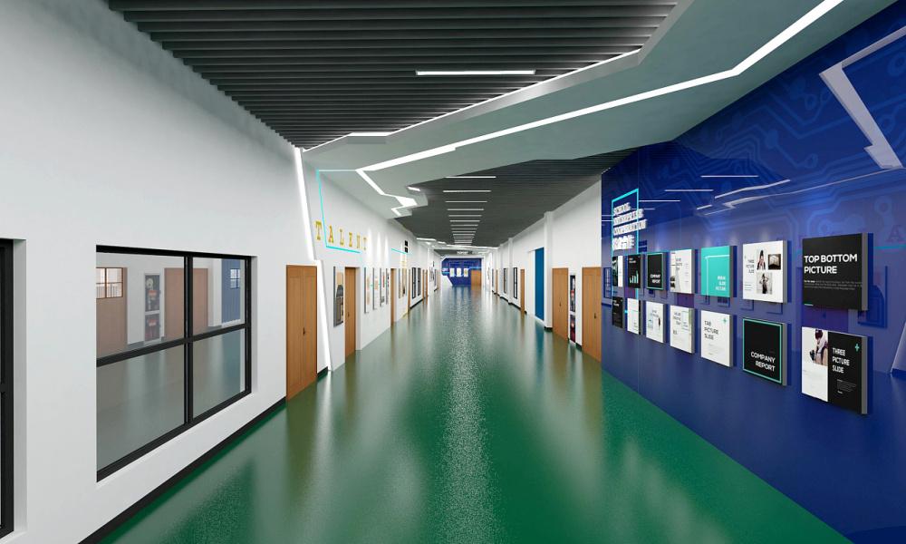 高要市展厅设计公司装修具有时代性