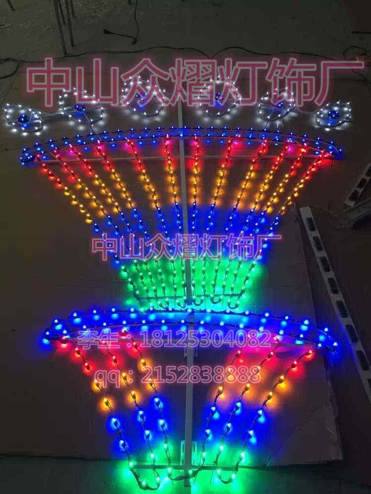 廊坊市闪光灯造型灯组图