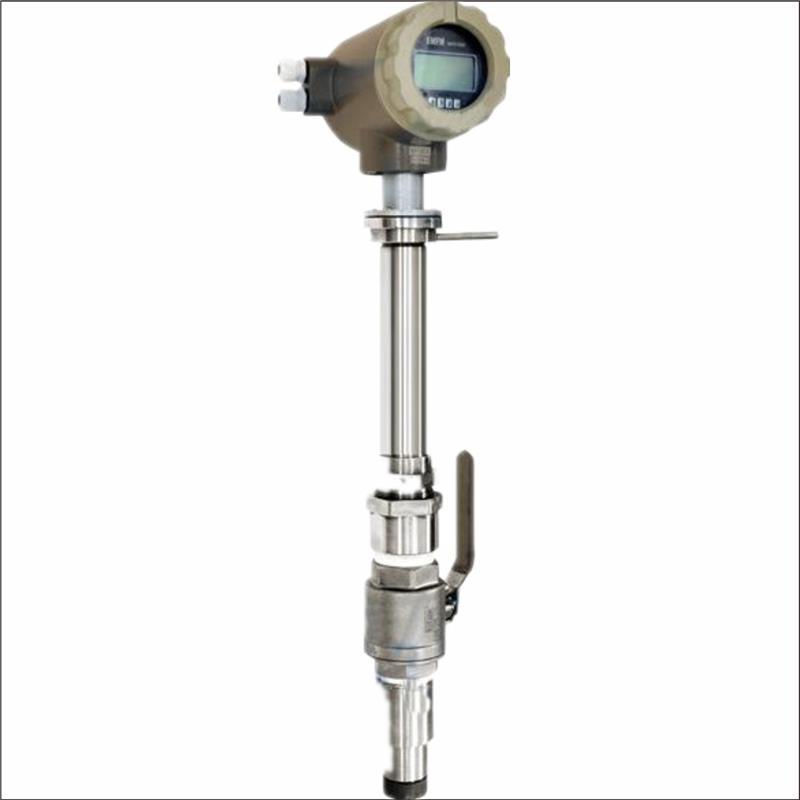 插入式电磁流量计适用于大口径的管道测量,