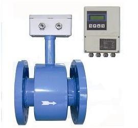 分体式电磁流量计由传感器和转换器组成