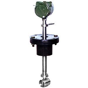 插入式涡街流量计主要用于工业管道中大口径气体液体蒸汽介质流体的流量测量