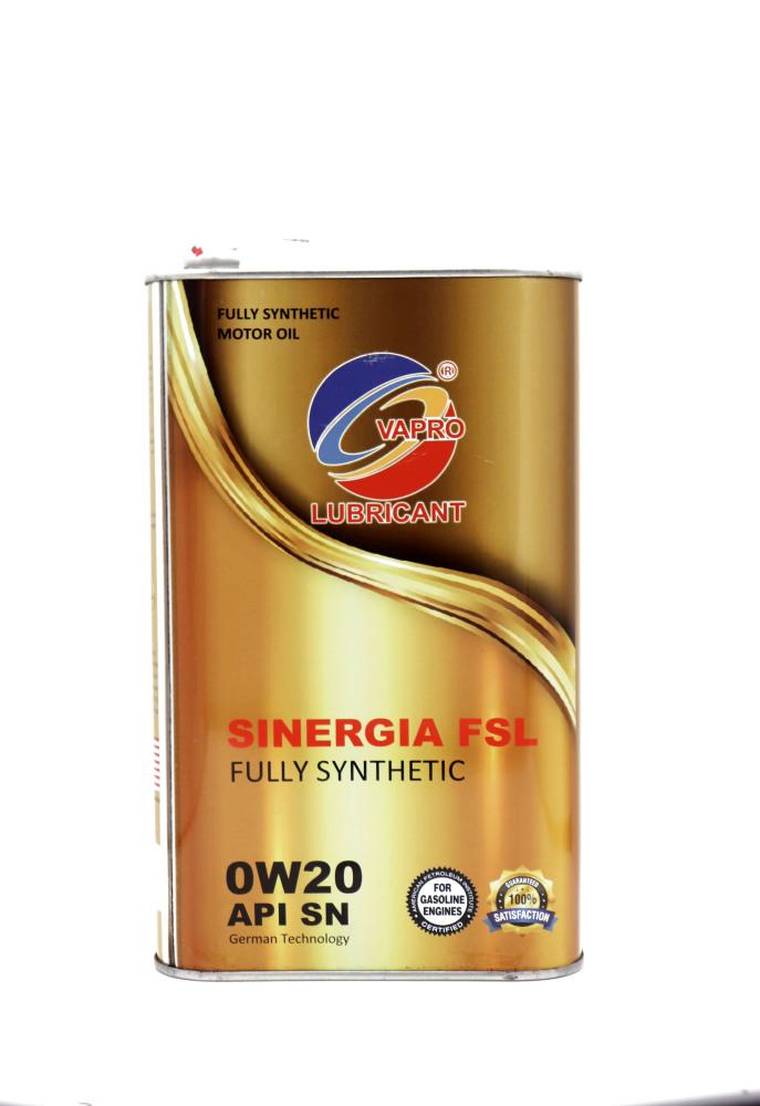 vapro威保0W-20金屬罐全合成機油汽車機油