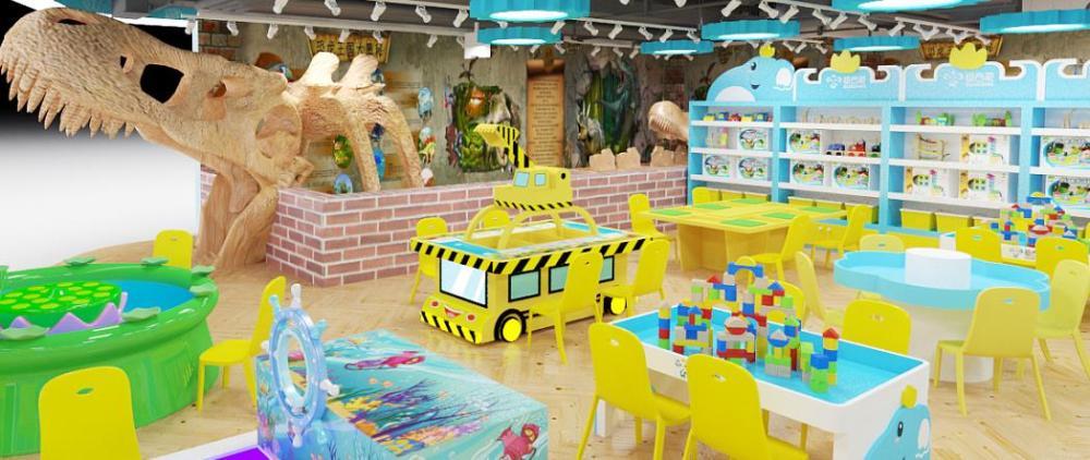 迪吉象益智玩具体验馆 恐龙考古乐园孩子们的幸福场所