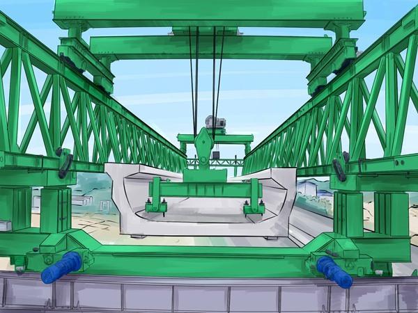 架桥机价格、庆阳架桥机、巨人