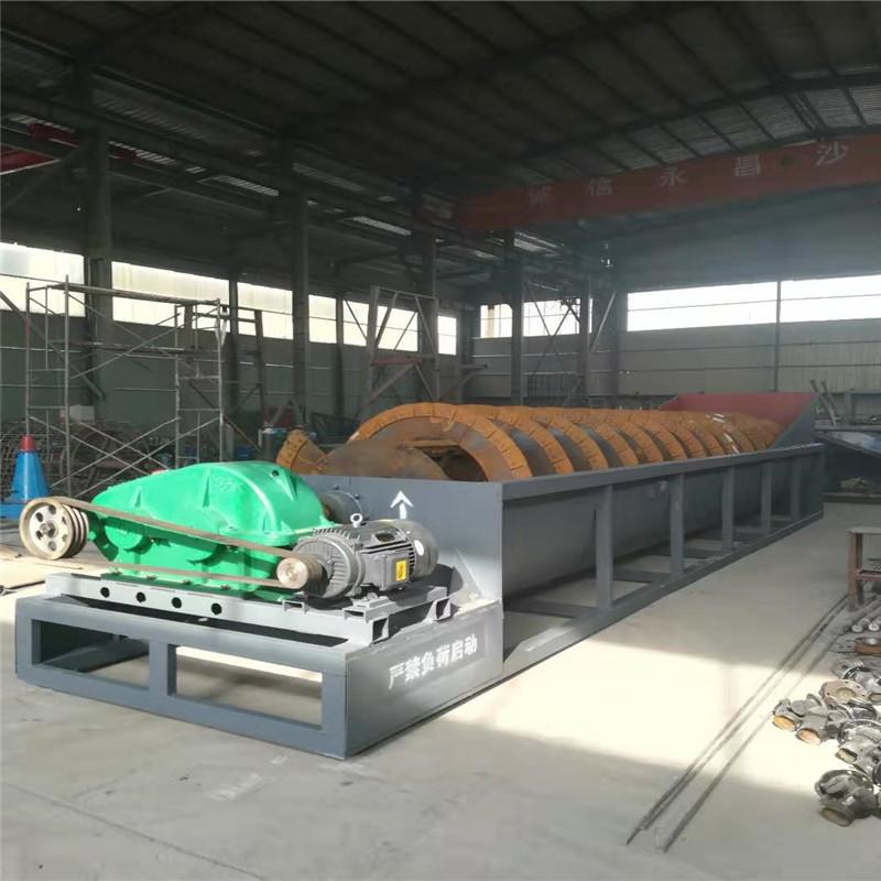 廣西螺旋洗沙生產線配置 多功能大型洗山沙洗沙設備