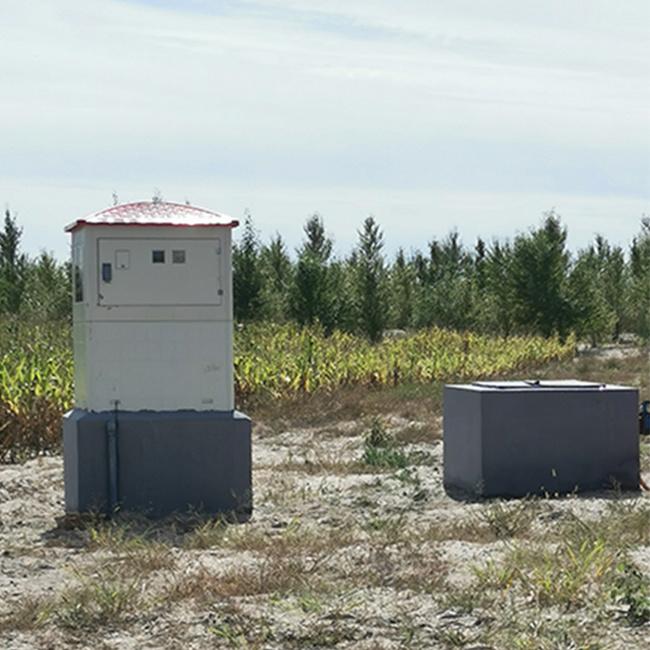 农业机井灌溉玻璃钢井房哪家品质好