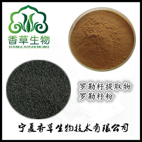 罗勒籽提取物出厂价  批发罗勒籽粉130目 罗勒籽浓缩浸膏现货