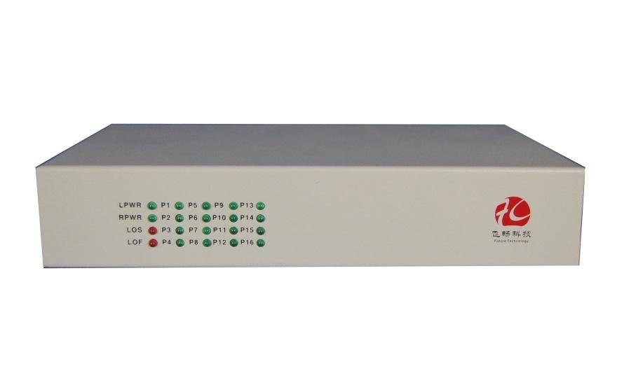 浙江 桌面型1-16路电话 E1语音复用光端机-厂家价格