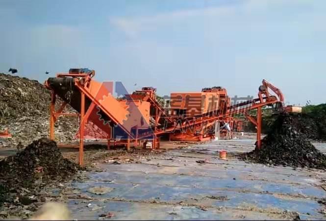 上海生活垃圾分拣机处理效果显著mnbv