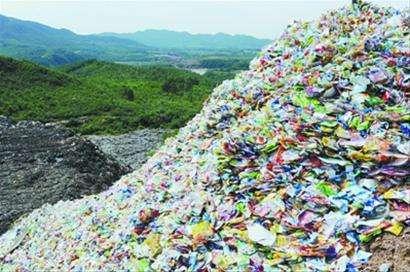 生活垃圾分拣生产线、蓝基、天宁生活垃圾分拣
