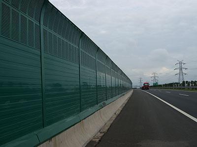 PC耐力板高速公路声屏障苏州厂家首选