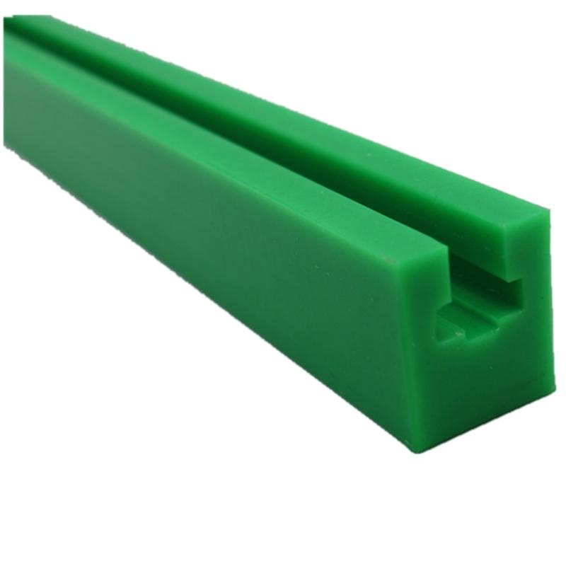 聚乙烯耐磨链条导轨 食品机械输送导轨 pe塑料耐磨异形件 东兴橡塑