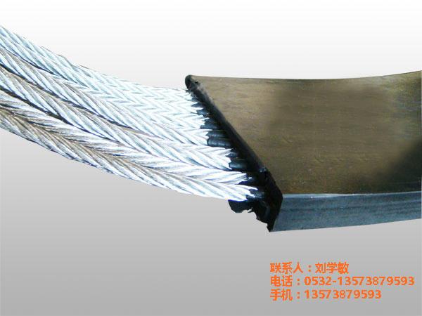 唐山钢铁厂入库提升机钢丝胶带哪家好 耐油耐酸碱强度高