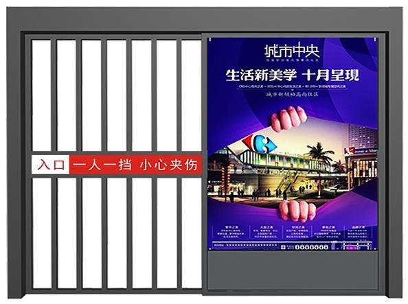 南阳广告平移门  广告门厂家直销