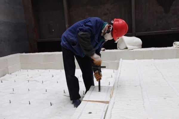 西安高鋁型陶瓷纖維模塊工業爐保溫耐材