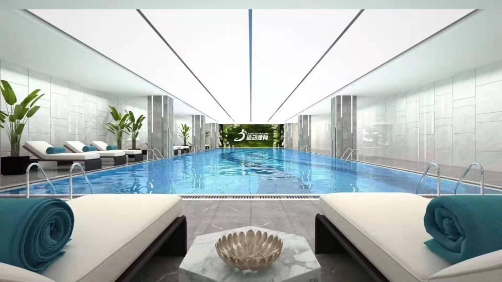中广泳池科技有限公司承建钢结构泳池