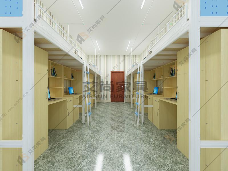 深圳大学宿舍艾尚家具未来感的床