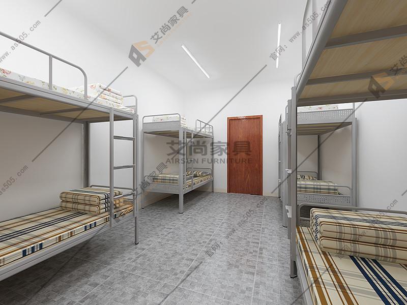 高级的广东上下铺双层床还是要选择艾尚家具