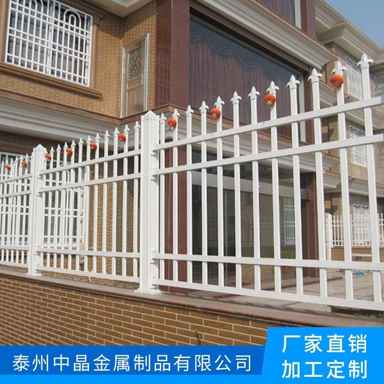 小区家用黑色楼梯白色扶手百叶窗定做厂家