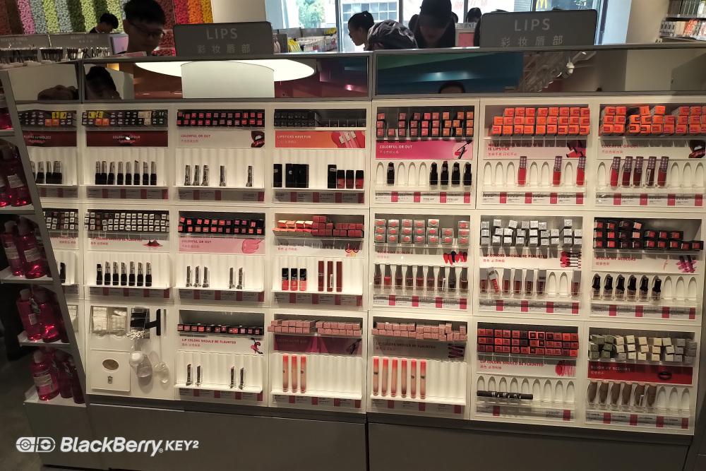 八千里货架THE COLORIST、调色师化妆品品牌
