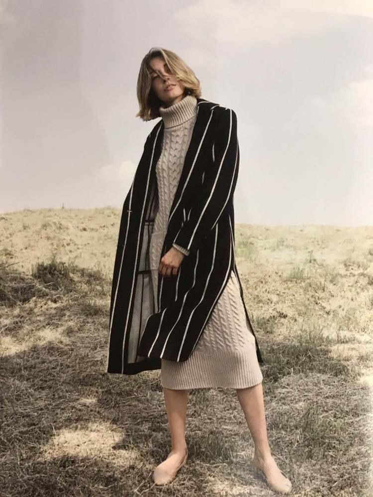 秋冬女式上衣 赛兔牦牛绒毛衣 针织外套 大衣 女装走份批发